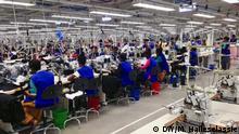 Äthiopien Eröffnung der ITACA Textilfabrik in Tigray. Foto: Million Haileselassie / DW
