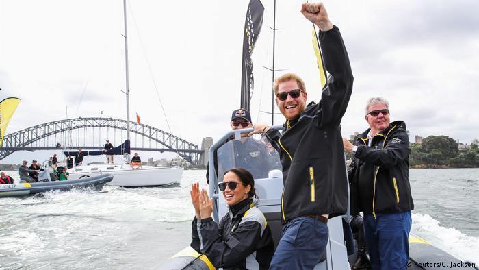 Australien Royal Tour l Prinz Harry u Meghan (Reuters/C. Jackson)