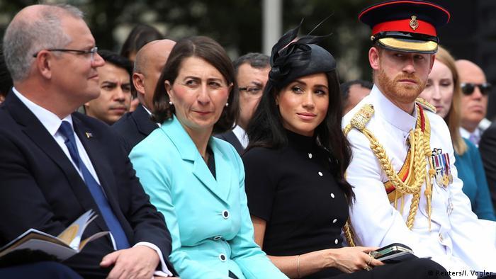Australien Royal Tour l Prinz Harry u Meghan (Reuters/I. Vogler)