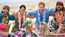 Australien Royal Tour l Prinz Harry u Meghan