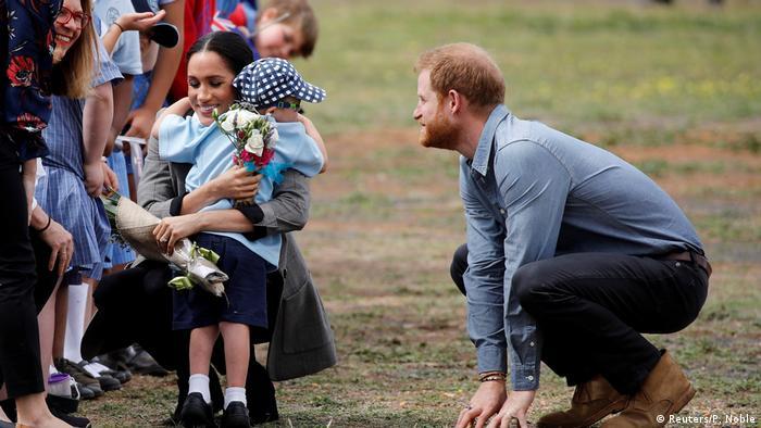 Australien Royal Tour l Prinz Harry u Meghan (Reuters/P. Noble)