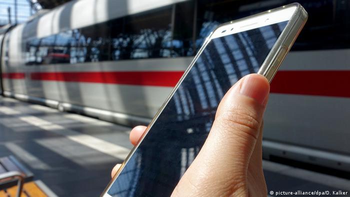 Пользователям мобильного приложения Deutsche Bahn в заявке на компенсацию достаточно указать код заказа
