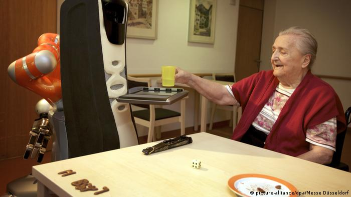 Technologie l Roboter in der Krankenpflege