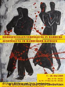 Deutschland Ausstellung Homosexuellen-Verfolgung in Hamburg