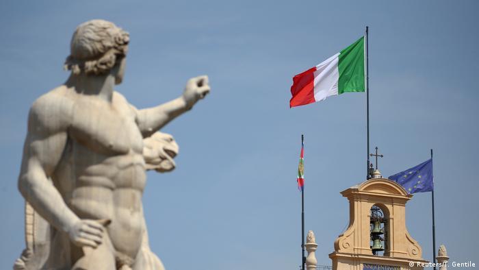 Europa Italien - EU-Kommisssion weist Italiens Haushaltsentwurf zurück