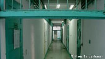Gefängnisgang (Foto: Klaus Bardenhagen)