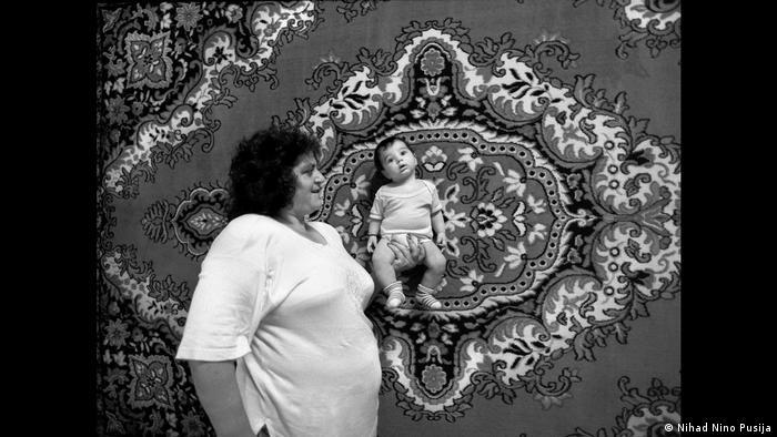 Romkinja s bebom