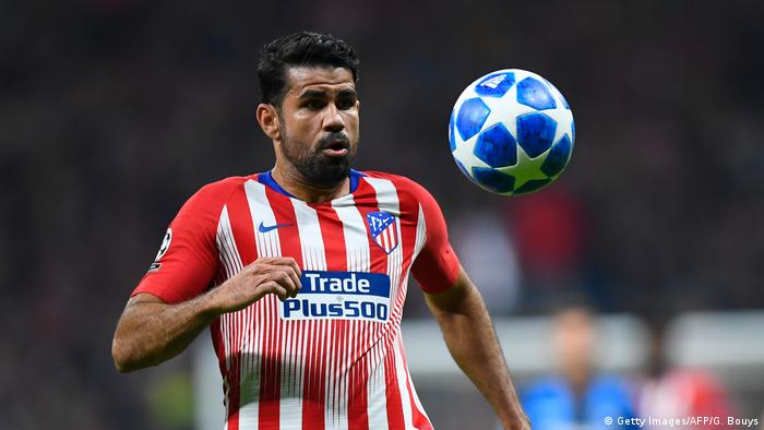 Atletico Madrids - Diego Costa (Getty Images/AFP/G. Bouys)