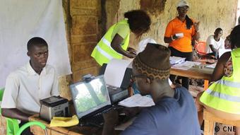 Guinea-Bissau - Wahlzählung (CNE)