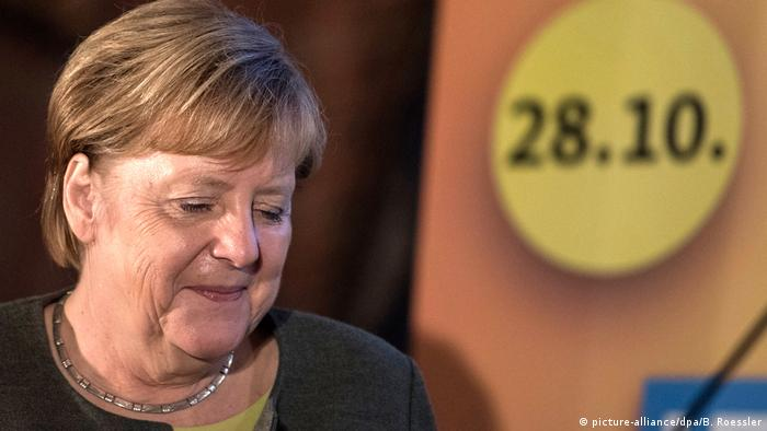 Angela Merkel (picture-alliance/dpa/B. Roessler)