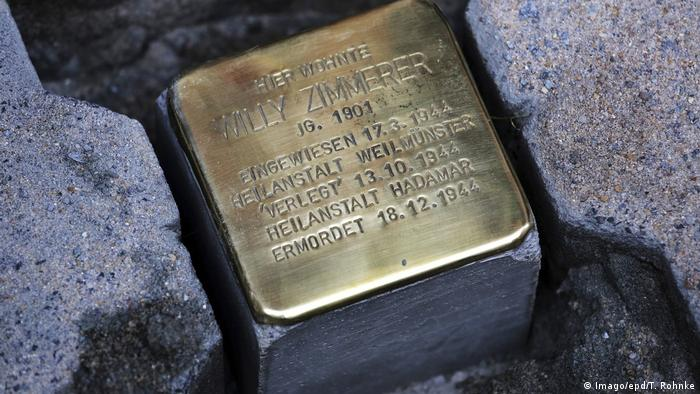 A Stolperstein for Willy Zimmerer
