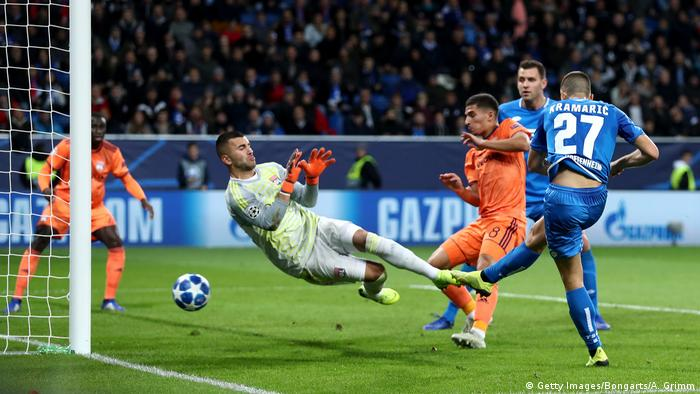 Champions League - Gruppenphase - Group F - TSG 1899 Hoffenheim v Olympique Lyonnais (Getty Images/Bongarts/A. Grimm)