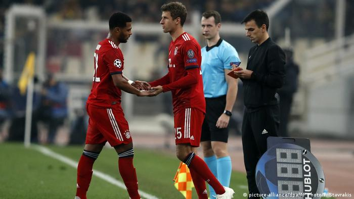 Fussball Champions League l AEK Athens v Bayern München (picture-alliance/dpa/AP Photo/T. Stavrakis)