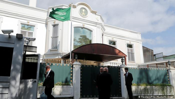 The Saudi consul's residence in Istanbul