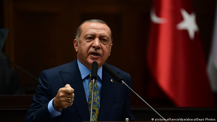 Turkish President Recep Tayyip Erdogan (picture-alliance/dpa/abaca/Depo Photos)