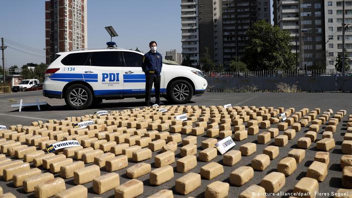El decomiso de droga en Chile ha aumentado significativamente en los últimos años.
