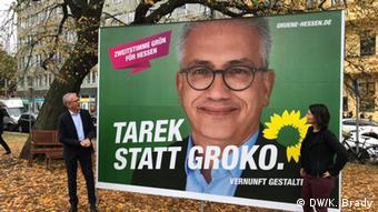 Deutschland: Landtagswahl in Hessen (DW/K. Brady)