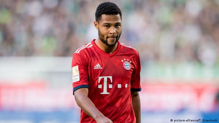 d57a292f46e Bayern Munich's Serge Gnabry: 'Watching what Dortmund are doing doesn't  help us'