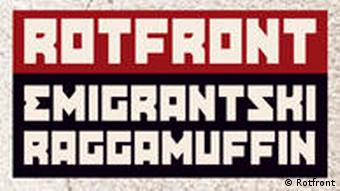 Cover der Band Rotfront Album Emigrantski Raggamuffin