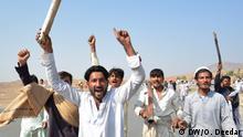 Afghanistan, Nangarhar: Demonstrationen gegen Militäreinsatz (DW/O. Deedar)