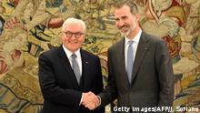 Spanien Madrid Frank-Walter Steinmeier bei König Felipe