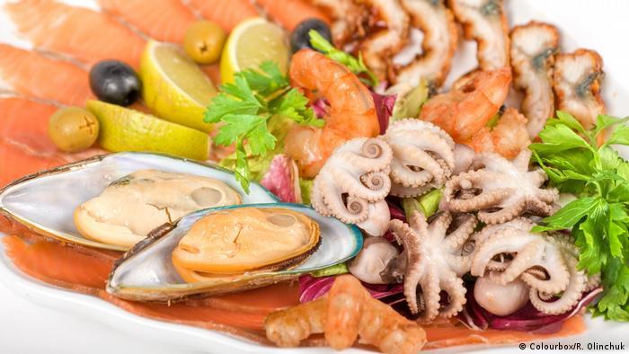 verschiedene Meeresfrüchte (Colourbox/R. Olinchuk)