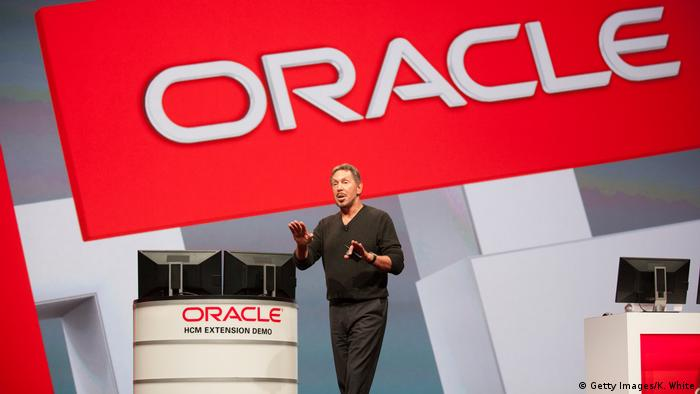 US-Softwarekonzerns Oracle - Gründer Larry Ellison (Getty Images/K. White)