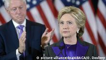USA Bill und Hillary Clinton | ARCHIV