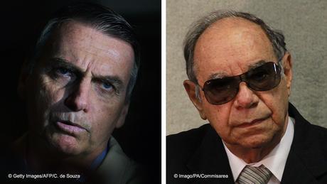 Foto de Jair Bolsonaro y Carlos Alberto Brilhante Ustra
