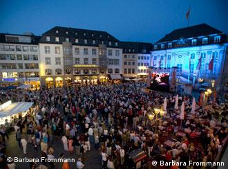 Public Viewing beim Beethovenfest (Quelle: Barbara Frommann)