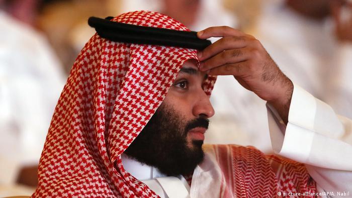 Portraitfoto: Mohammed bin Salman (picture-alliance/AP/A. Nabil)