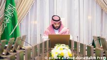 Saudi-Arabien - Saudischer Kronprinz Mohammed bin Salman