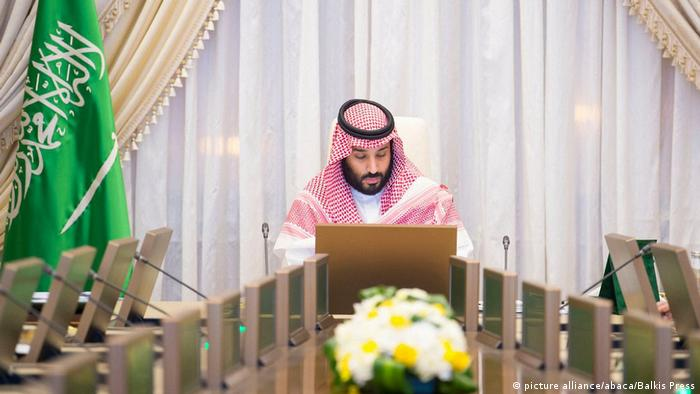 Saudi-Arabien - Saudischer Kronprinz Mohammed bin Salman (picture alliance/abaca/Balkis Press)