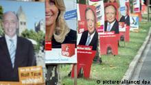 Wald aus Wahlplakaten