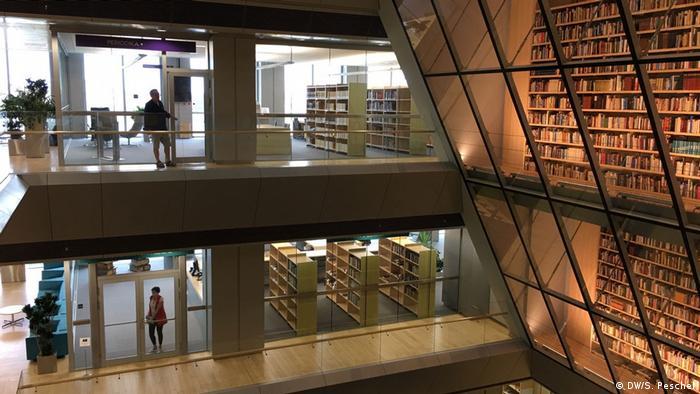 Lettland - Universitätsbibliothek in Riga