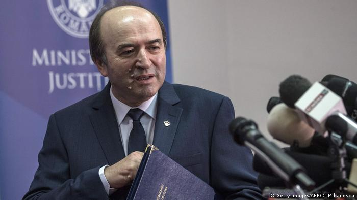 Rumänien Justiz l Justizminister fordert die Entlassung des Generalstaatsanwalts