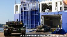 Norwegen Nato-Großmanöver «Trident Juncture»