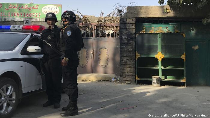 China Xinjiangs Umerziehungszentrum (picture-alliance/AP Photo/Ng Han Guan)