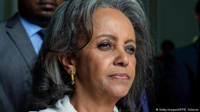 Portrait photo of Sahle-Work Zewde