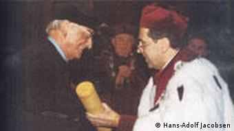 Prof. Hans-Adolf Jacobsen, Politologe und Historiker, Polen, Russland