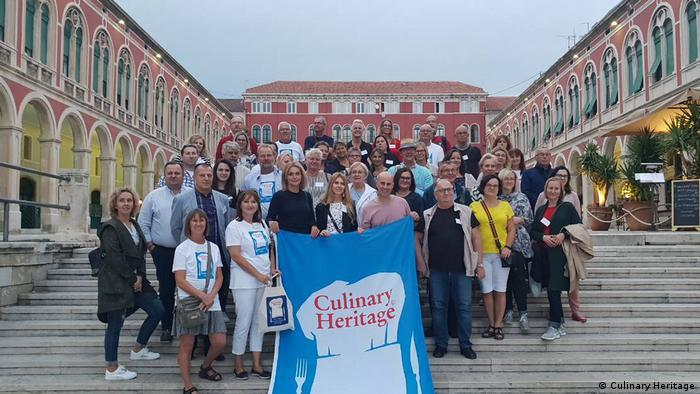 Sudionici studijskog putovanja o hrvatskoj kulinarskoj baštini u Splitu