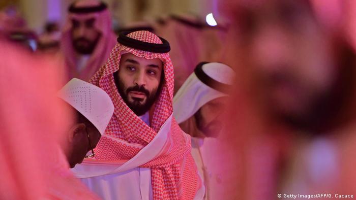 Saudi-Arabien Kronprinz Mohammed bin Salman