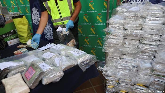 Spanien, Malaga: Drogenfund von 6 Tonnen Kokain