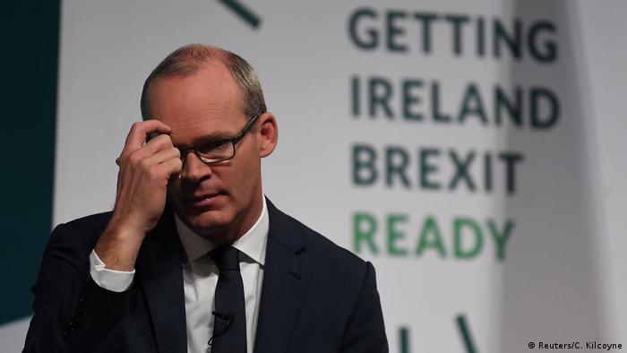 Irlands Außenminister Simon Coveney hält die Gefahr eines No-Deal-Brexits nun für größer denn je (Foto: Reuters/C. Kilcoyne)