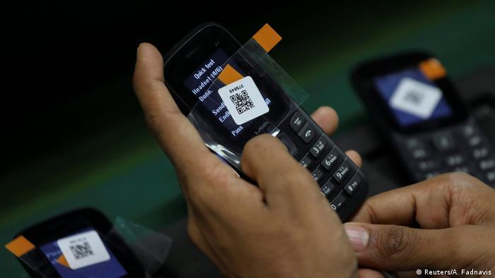 Smartphone Hersteller Lava Indien (Reuters/A. Fadnavis)