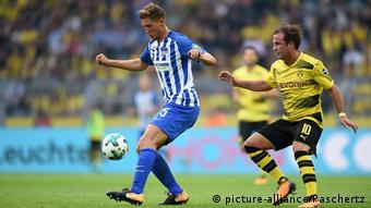 Dortmund, Signal Iduna Park, 26.08.17, Fußball - 1.Bundesliga - 2.Spieltag: Borussia Dortmund - Hertha BSC 2:0