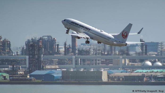 Haneda Airport, Japan (AFP/Getty Images/K. Nogi)