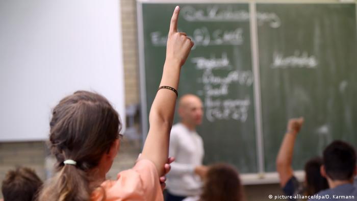На уроке в немецкой школе