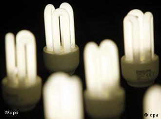 Energiesparlampen (Foto: dpa)