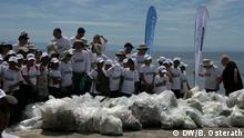 Beach Clean-up auf Roatán, Honduras
